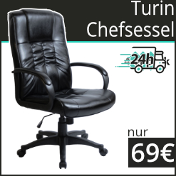 Turin Leather Faced Manager Chairs