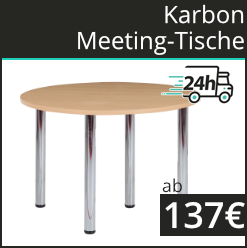 Karbon Meeting Tische   24h