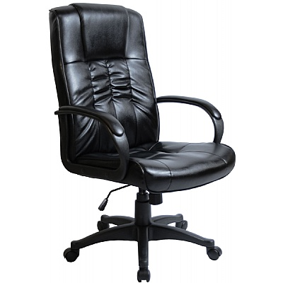 Turin Leather Manager Chair