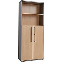 Profile Aktenschrank und -regal Kombination